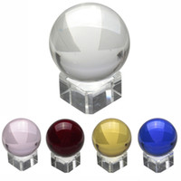 Wholesale Hot Sale Asian Rare Natural Quartz Pure Clear Magic Glass Crystal Healing Ball Sphere mm Stand Home Decoration