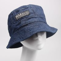 Wholesale Fashion Designer fisherman Hat mens Womens Foldable Fishing Caps Beach Sun Visor Folding Man UCLA Bowler Cap colors DHL shipping