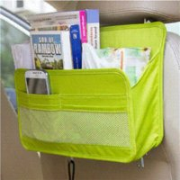 auto dvd portable - CYP022 Car Backseat Organizer Portable DVD Toys Storage Container Bag Auto Rack Interior Styling Gear Stuff Accessories Supplies