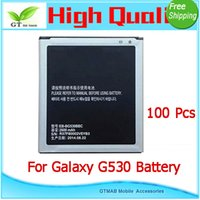 Cheap 100pcs lot DHL Fedex High Quality battery testing one by one For Samsung Galaxy Grand Prime G530 G530F G530H SM-G530F SM-G530H Battery