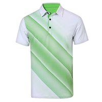 Wholesale Golf Apparel T Shirt Men Spring Summer Short Sleeve Breathable Shirts Sportwear Ball Clothes Quick Dry Breathable Golf T Shirt