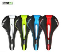 Wholesale WOSAWE Bicycle Seat The New Hollow Seat Road Bike Soft Seats Mountain Bicycle Saddle Counter Brand Quality Guarantee