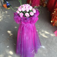 Wholesale Wedding silk road lead flower wedding props finished arch flowers new