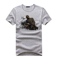 auto scoop - 2016 GTA5 game Grand Theft Auto fashion T shirt