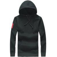 add coats - The new new autumn winter male hooded fleece jacket Add wool with thick cotton men s coat PL men hoodies sweatshirts