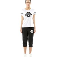 Wholesale Just Join Women Athletic Tracksuits T Shirt and Short Pant Suit Lifestyle Active Gym Workout Yoga Running Piece Set