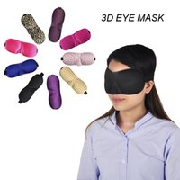 Wholesale 3D Eye Mask Sponge Shade Nap Cover Blindfold Mask Eyeshade Sleep Masks for Sleeping Travel