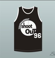 Wholesale The movie SHOOT OUT birdie Basketball Jerseys Size S XL Mix order