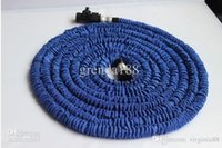 Wholesale 2013 New Landscape Expandable flexible hose FT blue water hose GARDEN hose pipe flexible
