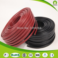 Wholesale M W mm China Equipment Snow Melt Self Regulating Pipe Heating Trace Flat Cable V