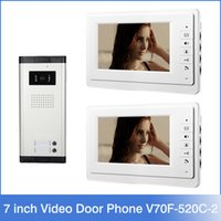 audio entry phone - Xinsilu Apartment Wired Intercom Entry Access System Inch Monitor Video Door Phone Audio Visual Units porteiro eletronico