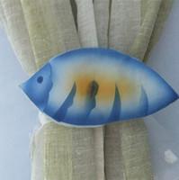 Wholesale 2 plus Window Curtain Tie Back Cotton Solid Fish Hook Holder Belt New