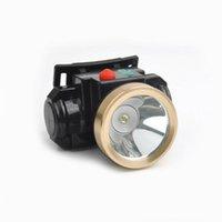 achat en gros de mineurs ont conduit lampes de chapeau-Miners 3W Mining LED batterie au lithium lumière mineurs sans fil cap lampe pour travailler Camping Randonnée Chasse Sports de plein air