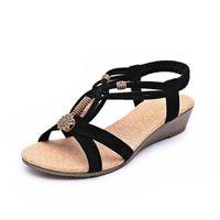 Wholesale 2016 Summer women sandals Fashion Flat Heel Flip Gladiator Brief Herringbone beach Flip flop Sandals F0208