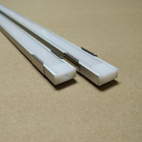 aluminum extrusion profiles - 40m per pack meter inch each Led aluminum extrusion QC1607 for LED Profile led strip mm PCB