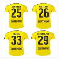 active payment - Dort Top Quality Jersey Reus SUBOTIC MKHITARYAN Camiseta de SAHIM WEIGL Maillot Dortmun Safe Payment