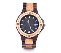 bamboo quartz - high quality fashion bamboo men s watches OEM five colors