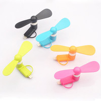 Wholesale Portable cellphone mini fan in for iphone s s TPE mini fan for micro android colors
