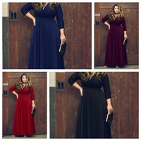 best skirt patterns - Foreign Trade Best Sellers New Pattern Suit dress Enlarge Deep Code V Net Will Pendulum Skirt Color Optional KF chiffon dress Panelled