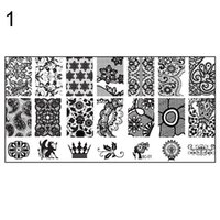 Wholesale New Design DIY Nail Art Image Stamp Stamping Plates Manicure Template Tool H6Z FYG