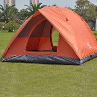 Wholesale Waterproof Oxford Larger Camping Tents for Family Portable Double Layer Doors Multisport Outdoors Travel Hiking Tents for Camping