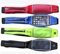 Wholesale Iphone S Running Leisure Belt Fashion touch screen Pocket bag for Man and Woman