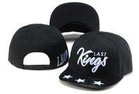 baseball cap packaging - 2017 HOT Sale Last Kings Snapback Caps Hip Hop Cap LK Hat Baseball Hats For Men Casquette Bone Bones Gorras Carton Packaging Kings Caps