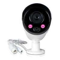 Wholesale 720P POE High definition monitor suit CH H NVR Recorder IR Cut Waterproof CCTV Outdoor IP camera simple installation just a piece of ca