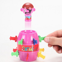 Wholesale Hot Sale Tricky Novelty Vent Spoof The Whole Person Pirate Barrel Toys Practical Jokes Toy