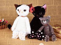 Wholesale 2016 New Cat Figure Plush toys With Shine Claw Distinctive Plush Toys gifts for Baby And Lovers