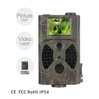 Wholesale factory price hunting wildlife Infrared camera outdoor waterproof p hunting video trail camera for wild surveillance