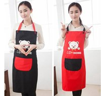 bear kitchen accessories - real crafts avental de cozinha divertido Brown Bear aprons kitchen accessories fashion overalls home apron japan cartoon