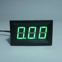 amp guage - Mini Digital Ammeter Amp Current Meter Ampere Panel Guage DC A V V With Green LED Display