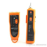 Wholesale Network LAN Ethernet Phone Telephone Cable Toner Wire Tracker Tracking System Tester With Retail Package