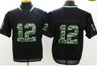 apparel mixed greens - Mens Camo Fashion Jersyes Football Jerseys New Season Athletic Apparel Brand Mens Sports Shirts Top Sale Football Wears Mix Order