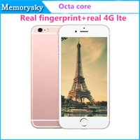 color tv - i6s cellPhone Octa Core MTK6753 G G inch I6s Android real G LTE real fingerprint function SmartPhone