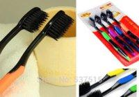 Wholesale sets Korea Bamboo charcoal toothbrush nano soft toothbrush nano bamboo Anion Charcoal