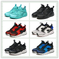 shoes box design - Brand Design Black White Red Mesh Air Huarache Ultra Run Sports Shoes Men Women Running Shoes Trainer Sneakers With Box Size US5