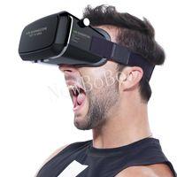 Wholesale Professional Google Cardboard VR BOX upgrade VR SHINECON super Dissipate heat Virtual Reality D Glasses for Phone