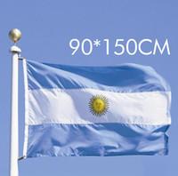 Wholesale Spot cm ft Argentina polyester flags
