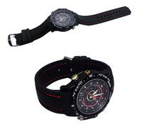 Wholesale Newest fashion waterproof Spy Watch Hidden Pinhole Camera pixels GB Wrist Watch DVR Sport Watch Camera
