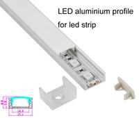 aluminium u channel - U type aluminium LED profile for led strip fooring light smd5050 led channel profile led alu profile X0 M