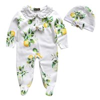 autumn fruits - Baby Onesies New Style Fashion Baby Fruit Fresh Romper Long Sleeve Rompers Suit For Summer Cotton Girl Clothes