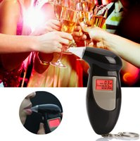Wholesale Drop shipping alcohol tester mannul mini professional breathalyzer
