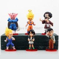 Wholesale Dragon Ball kai Action Figure Budokai Son Goku Gohan Vegeta PVC Model Japanese Anime Figure DragonBall Z Kai Toy