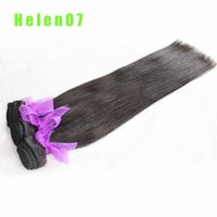 Wholesale Canbe Dyed Or Permed For Black Women A Grade Silky Straight Brazilian Human Hair Weaves Unprocessed Hair Extensions