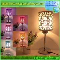 ac giving - Modern Fashion Table Lamp Bedside Lamp Bedroom Lamp and give a LED Bulb as a present