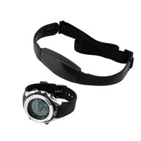 Wholesale 1 Set Chest transmitter strap Watch Outdoor Cycling Sport Wireless Heart Rate Monitor Sport Fitness reloj inteligente Brand New