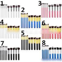 draw string bag - 10 Professional Makeup Brushes Set SGM Make up Brushes Kit Free Draw String Makeup Bag Tools Color KB392