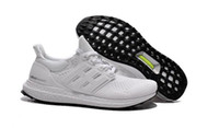Wholesale 2016 Ultra Boost White Sneaker Women Mens Sports Running Shoes Size eur Drop Shipping